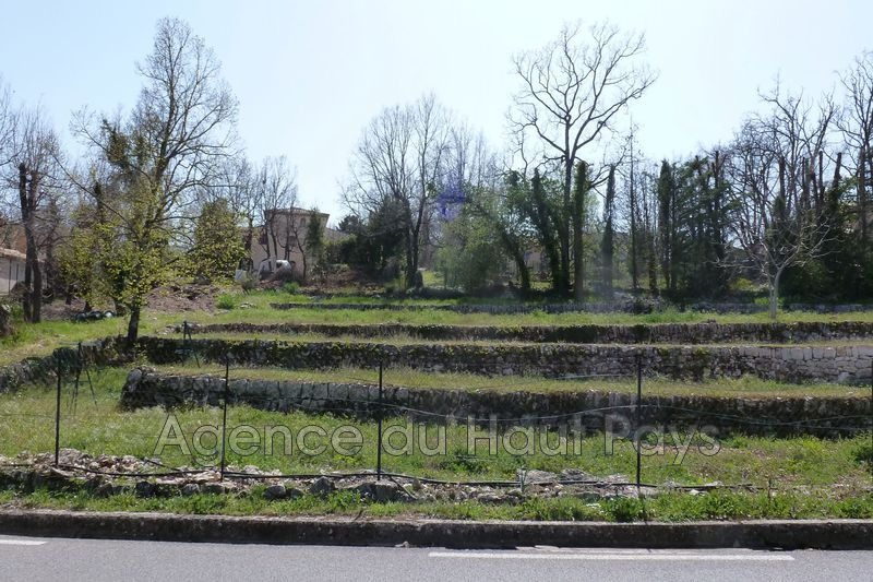 Photo Land Saint-Cézaire-sur-Siagne Proche village,   to buy land   1000 m²