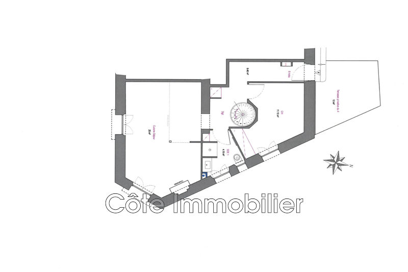 Photo n°9 - Vente appartement Cannes 06400 - 510 000 €