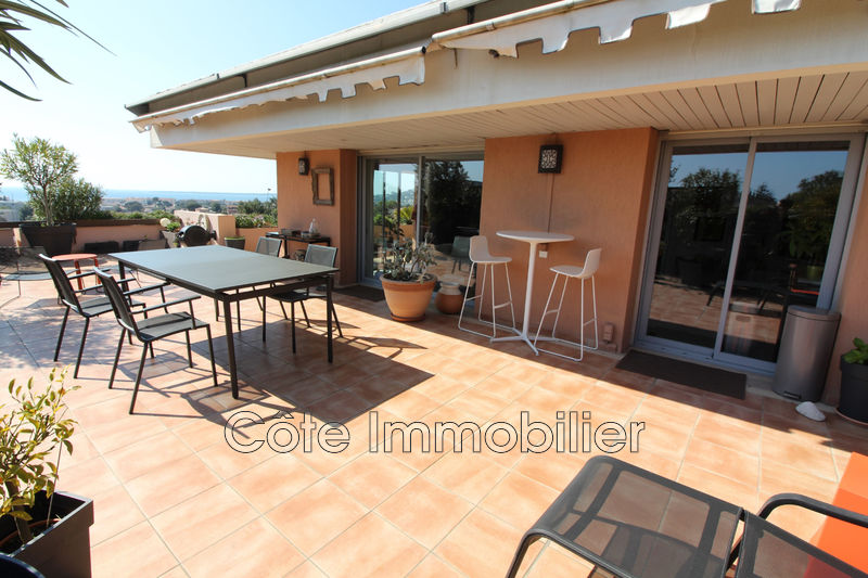 appartement  4 pièces  Antibes Antibes ouest  96m² -