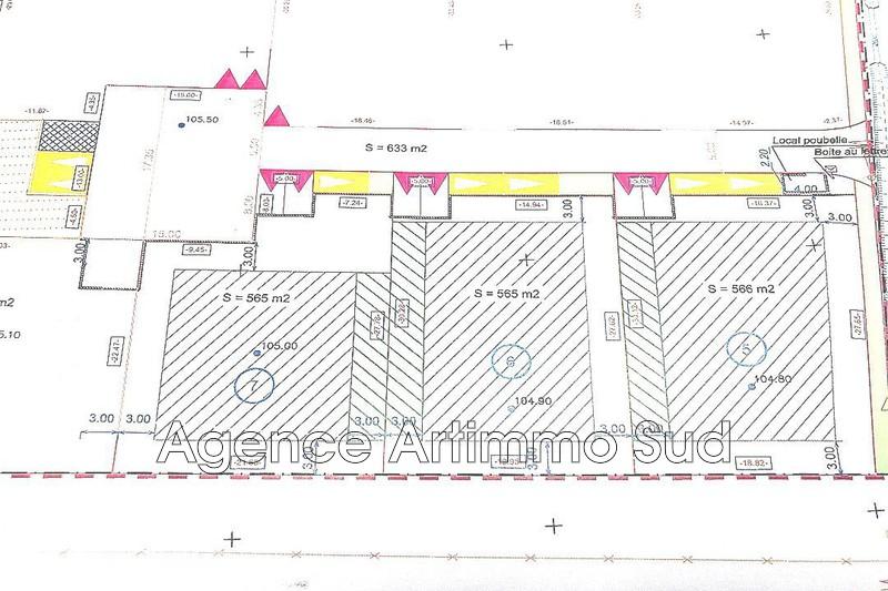 Photo Terrain à bâtir Aureille Village,   achat terrain à bâtir   565m²