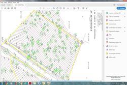 Vente terrain Grimaud plan altimetrique terrain 2500 m²