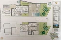 Vente villa vue mer et piscine Sainte-Maxime Plan villa 7.JPG