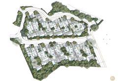Vente villa vue mer et piscine Sainte-Maxime Plan de masse