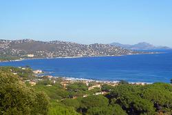 Vente villa Sainte-Maxime Vue sur la baie de la nartelle