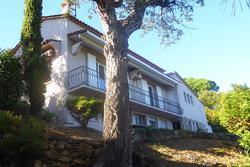 Vente villa Sainte-Maxime Vue de la villa façade principale