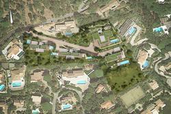 Vente villa Grimaud vue aérienne programme