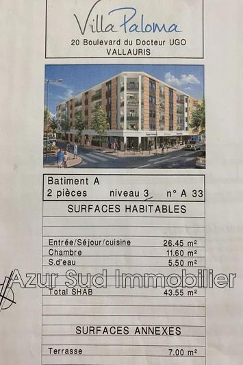 Photo n°7 - Vente appartement Vallauris 06220 - 185 000 €