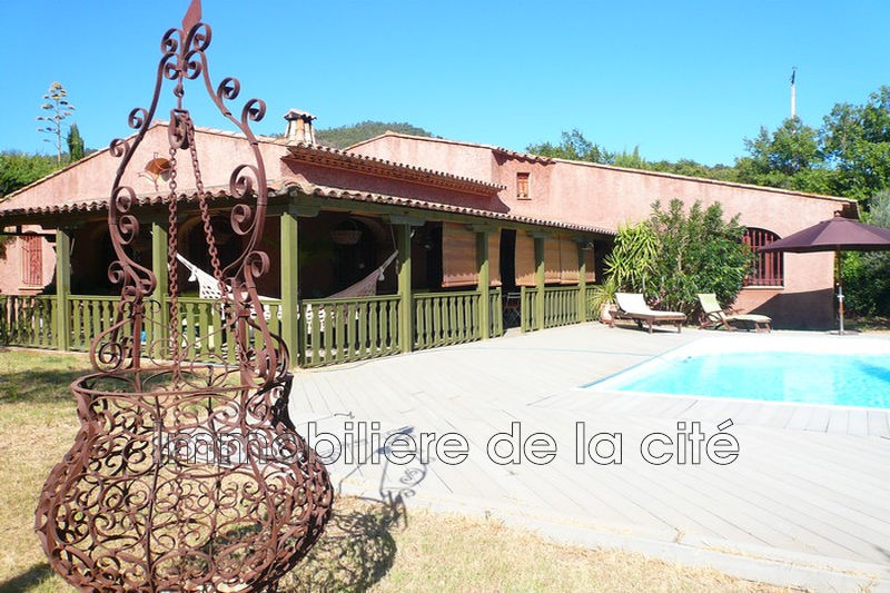 Photo Villa Grimaud Golfe de st tropez,   to buy villa  3 bedrooms   175 m²