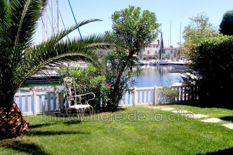 Photo Home marina Port grimaud Amarrage large 12 x 8,50 m,   to buy home marina  5 bedrooms   140 m²