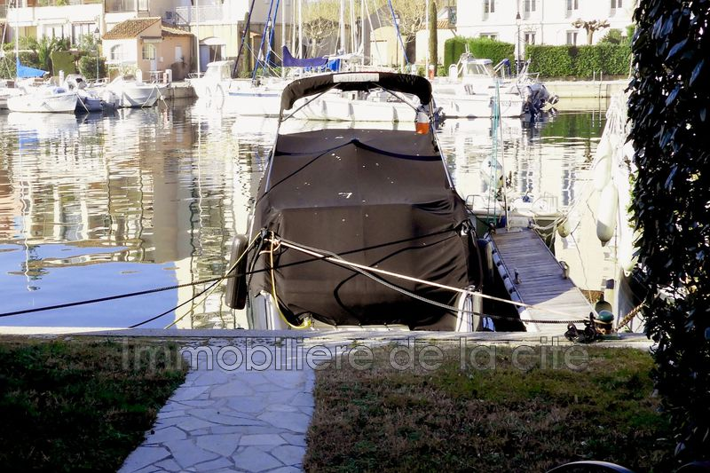 Photo Cassine Port grimaud Rare amarrage de 22 x 5,80 ,   achat cassine  3 chambres   75 m²