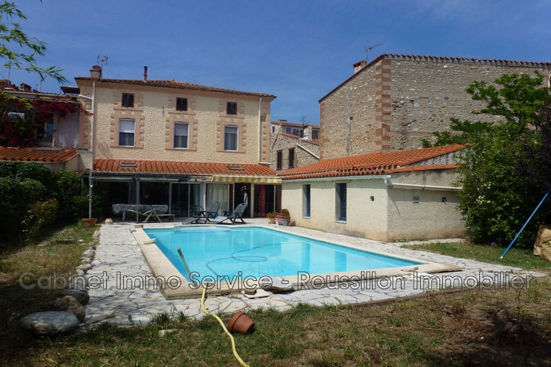 Maison Saint-Jean-Lasseille   achat maison  4 chambres   190m²