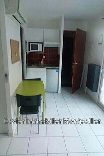 Appartement Montpellier Arceaux,  Location appartement  1 pièce   24m²