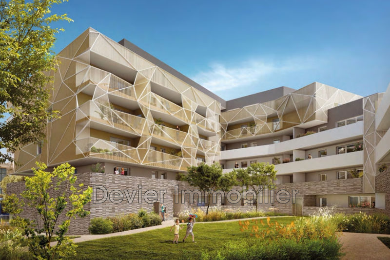 Photo Appartement Montpellier Port marianne,   achat appartement  3 pièces   60m²