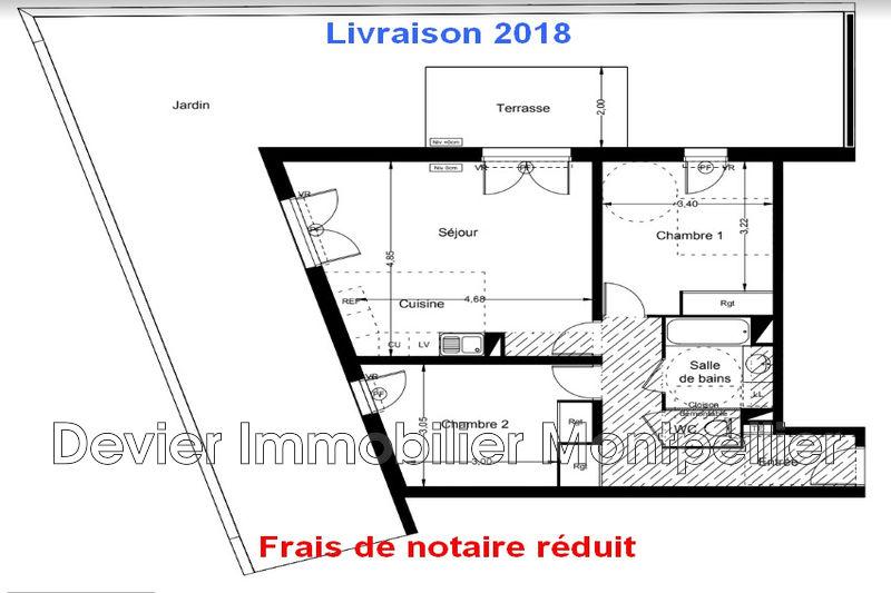 Appartement Montpellier Hôpitaux facultés,   achat appartement  3 pièces   67m²