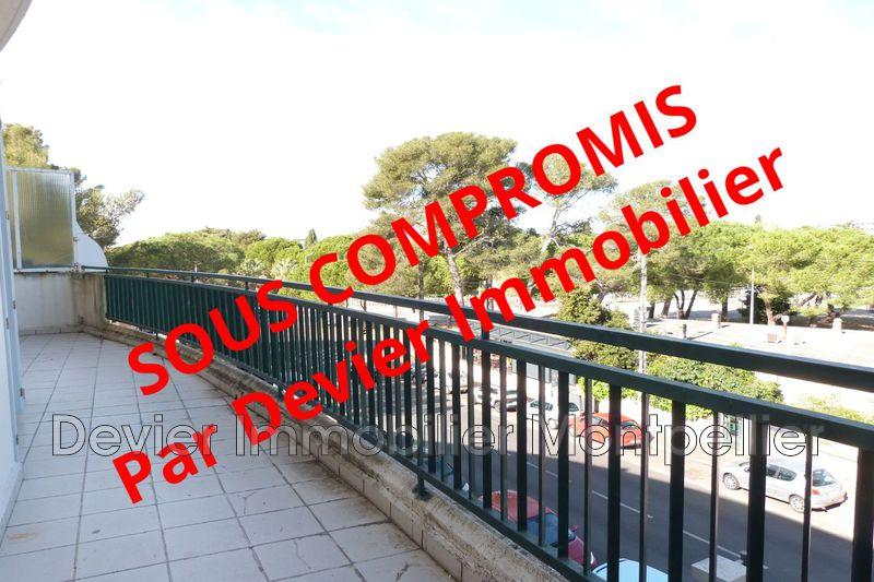 Appartement Montpellier Hôpitaux facultés,   achat appartement  2 pièces   55m²