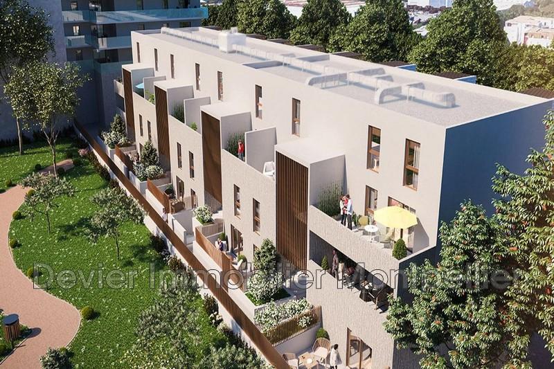 Appartement Montpellier Près d'arènes,   achat appartement  3 pièces   56m²