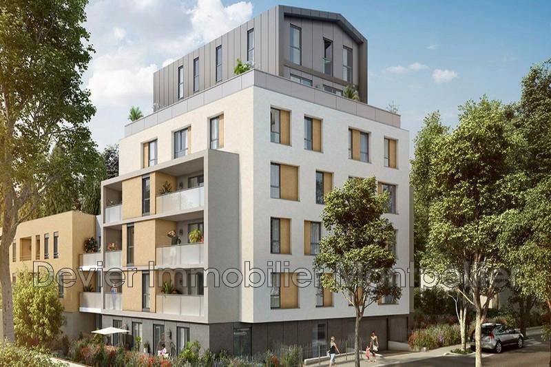 Appartement Montpellier Hôpitaux facultés,   achat appartement  3 pièces   56m²