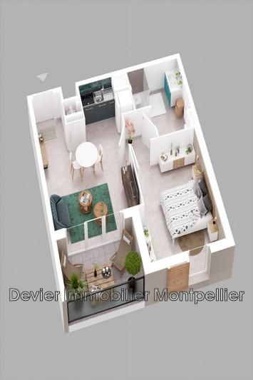 Appartement Sète Autres secteurs,   achat appartement  2 pièces   37m²