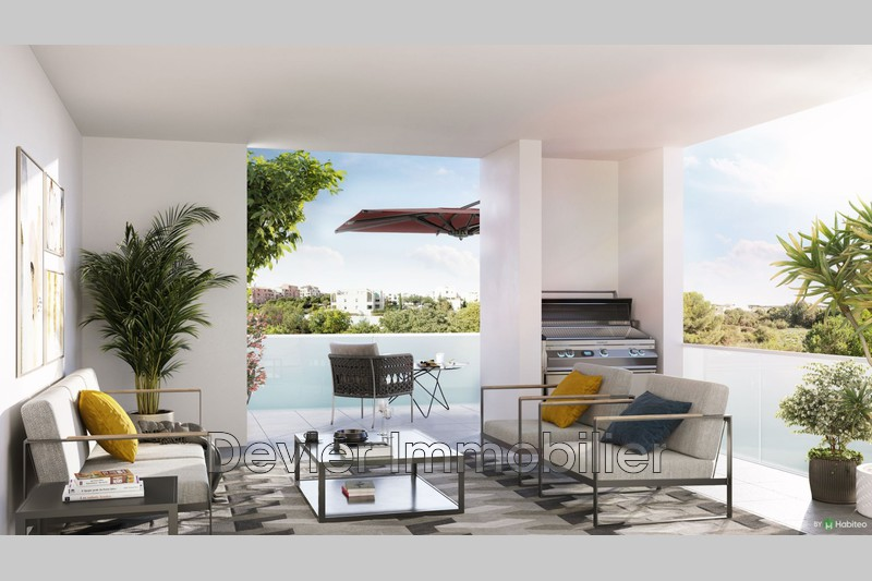 Appartement Montpellier Ovalie,   achat appartement  4 pièces   91m²