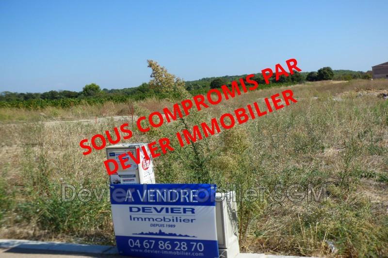 Terrain à bâtir Restinclières   achat terrain à bâtir   532m²