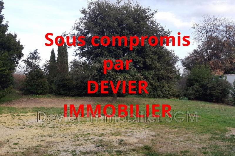 Terrain Sussargues Saint drézéry,   achat terrain   772m²