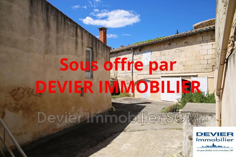 Maison de village Saint-Geniès-des-Mourgues   achat maison de village  2 chambres   130m²