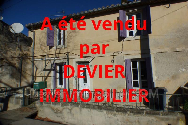Maison de village Saint-Geniès-des-Mourgues   achat maison de village  3 chambres   105m²