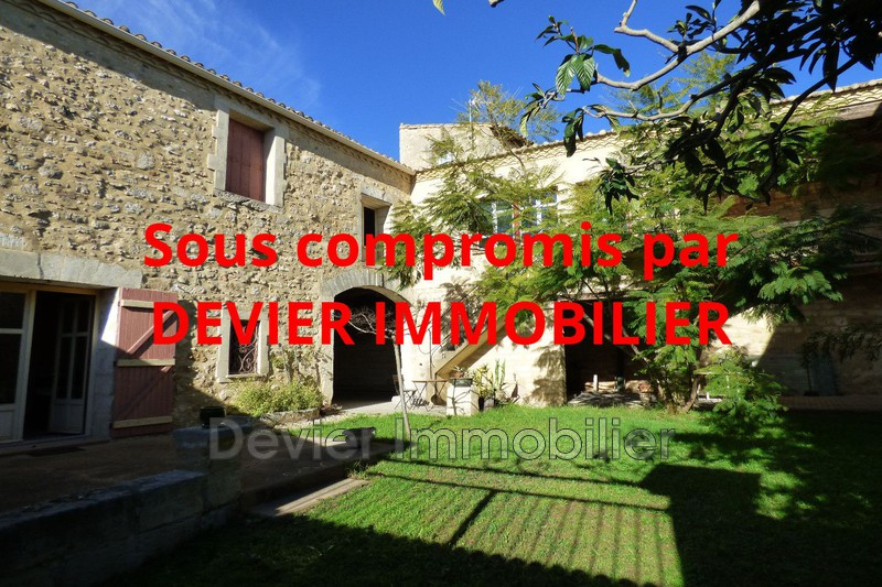 Maison de caractère Saint-Christol Saint christol,   achat maison de caractère  4 chambres   230m²