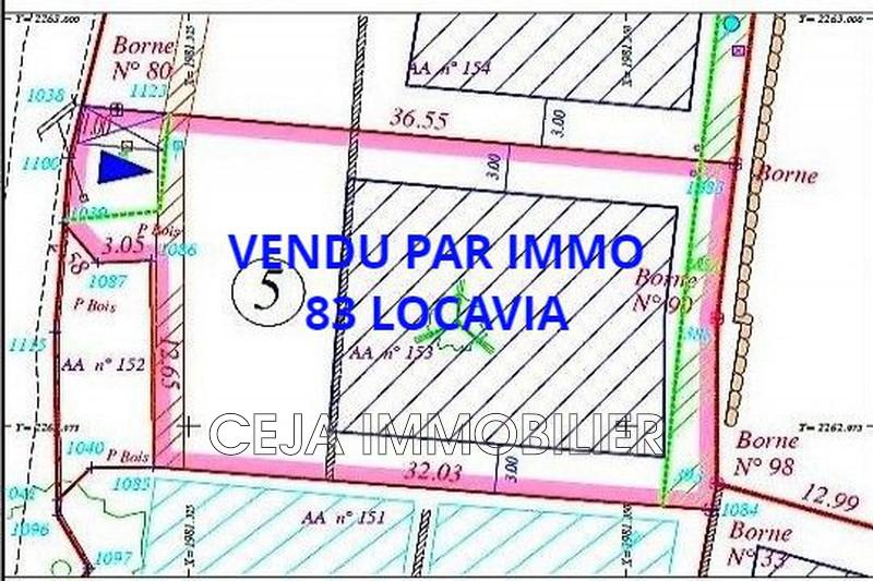 Land Trans-en-Provence Village,   to buy land   743m²