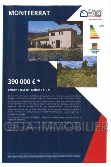 Photo n°4 - Vente terrain à bâtir Montferrat 83131 - 130 000 €