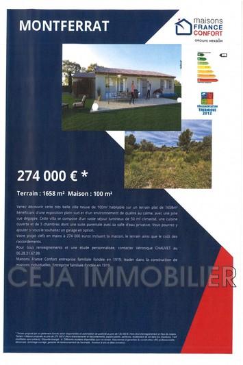 Photo n°5 - Vente terrain à bâtir Montferrat 83131 - 130 000 €