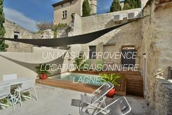 Location saisonnière maison de village Lagnes
