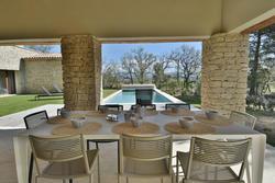 Location saisonnière maison Gordes pool house