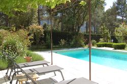 Location saisonnière villa provençale Ménerbes piscine-jardin 2