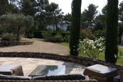 Location saisonnière villa provençale Ménerbes vue terrasse.JPG