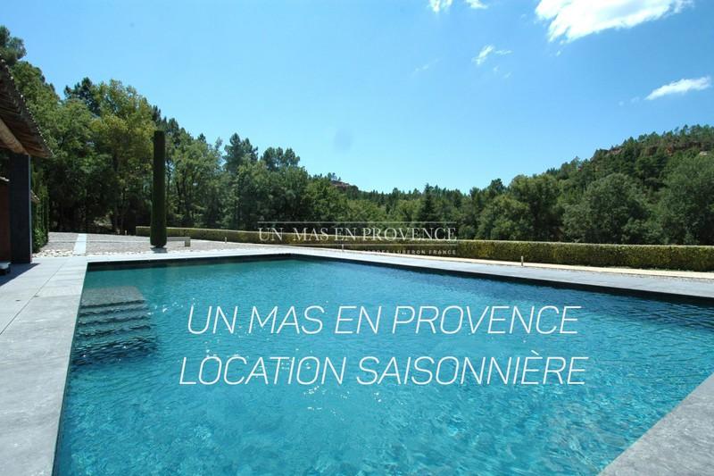 Location saisonnière maison contemporaine Roussillon  Maison contemporaine Roussillon Luberon,  Location saisonnière maison contemporaine  3 chambres