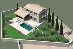 Vente terrain Gordes Maison A -Vue 1