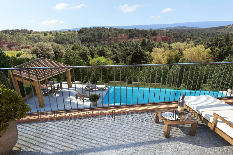 Vente maison contemporaine Roussillon  Maison contemporaine Roussillon Luberon,   achat maison contemporaine  4 chambres   240m²