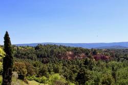 Vente maison de village Roussillon Vue depuis terrasse