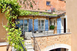 Vente maison de village Roussillon Façade