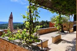 Vente maison de village Roussillon Terrasse