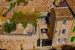 Vente maison de village Roussillon vue d enselmble rochebelle