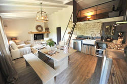 Vente maison de village Cabrières-d'Avignon 1026 séjour