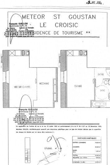 Photo n°7 - Vente appartement Le Croisic 44490 - 78 000 €