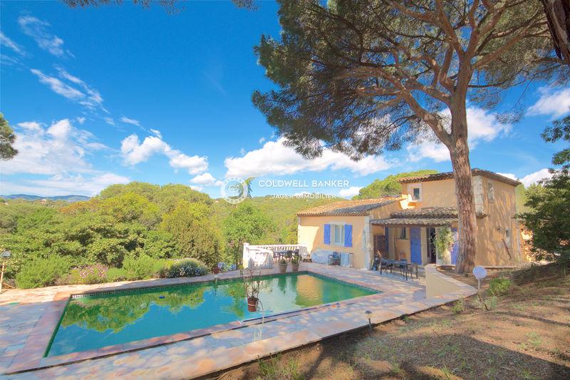 Vente villa La Croix-Valmer  Villa La Croix-Valmer Golfe de st tropez,   achat villa  5 chambres   180m²