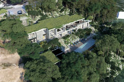 Vente maison contemporaine Grimaud aerienne