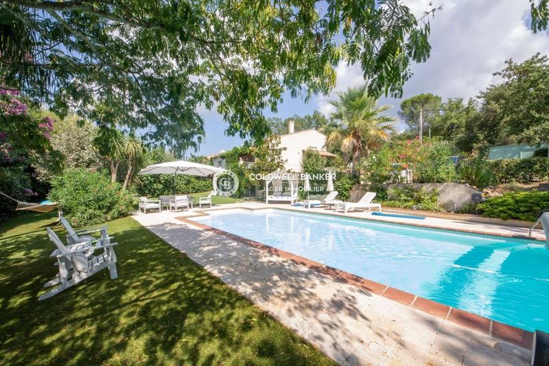 Vente villa Grimaud  Villa Grimaud Golfe de st tropez,   achat villa  4 chambres   160m²