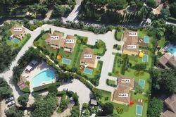 Vente villa Gassin thumbnail_Plan de masse - numérotation villas