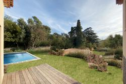 Vente villa Grimaud VILLA CLEMENSON VUE VERS EXT jardin