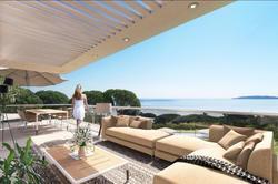 Photos  Appartement Villa sur le toit à vendre Sainte-Maxime 83120